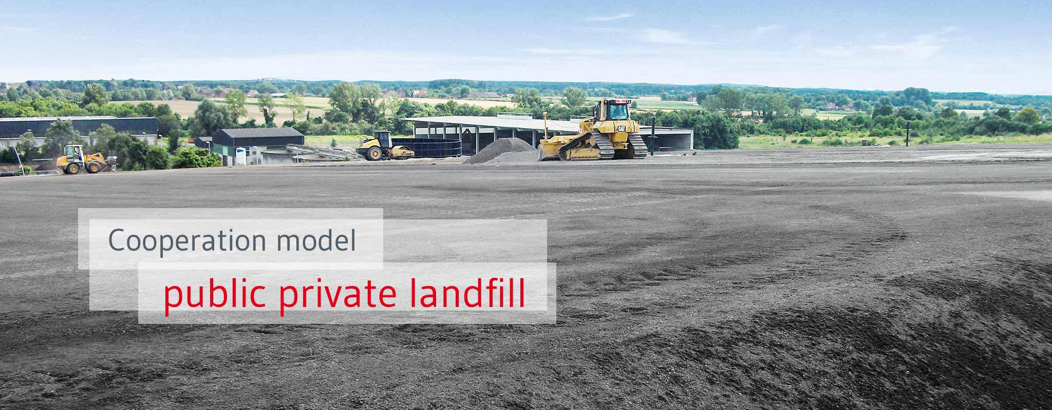 Collaboration on landfill projects with prepaid landfill
